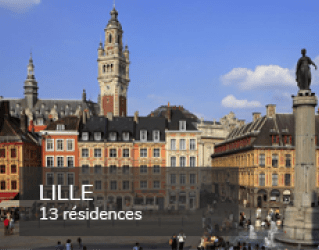 Student residences in Lille
