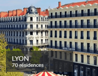 Student residences in Lyon