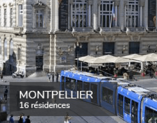 Student residences in Montpellier