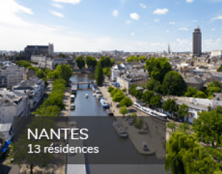 Student residences in Nantes