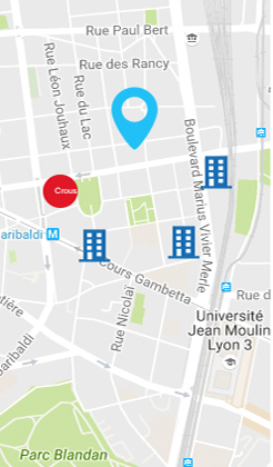 Search for studenthomes near you